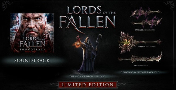 Lords Of The Fallen Limited Edition - Midia Fisica