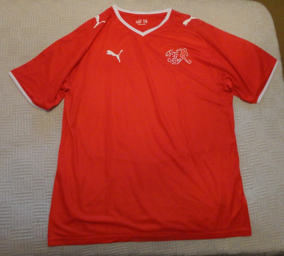 Camiseta De Suiza Marca Puma, Talle Xl