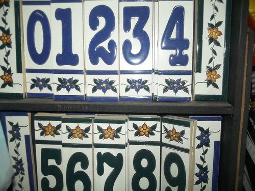 Numero Ceràmico Para Puerta De Calle, Bis