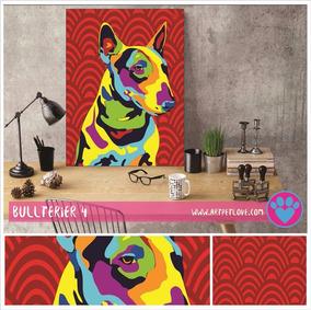 Cuadro Art Pet Love - Bullterier 4.