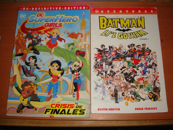 Batman Lil Gotham Y Dc Superheroine 2 Comics Moster Edition
