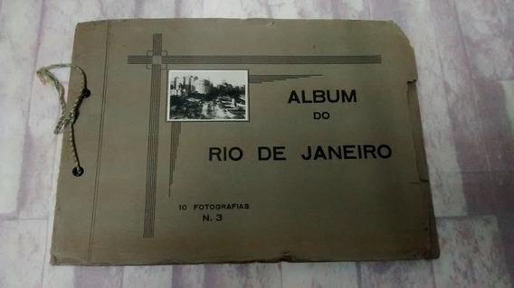 Antigo Album Foto Fotografia Rio De Janeiro