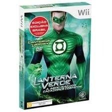 Lanterna Verde A Ascensão Dos Caçadores Cósmicos - Wii+ Dvd.