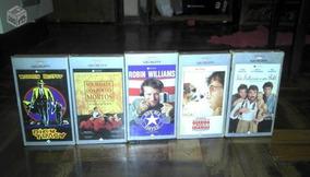 5 Fitas Vhs Filmes Videoteca Caras Video Cassete