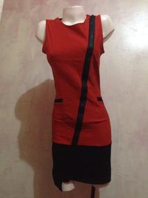 Vestido Cierre Delantero En 2 Colores..estilo Formal.