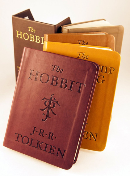 The Hobbit And The Lord Of The Rings Set Deluxe N Piel *full