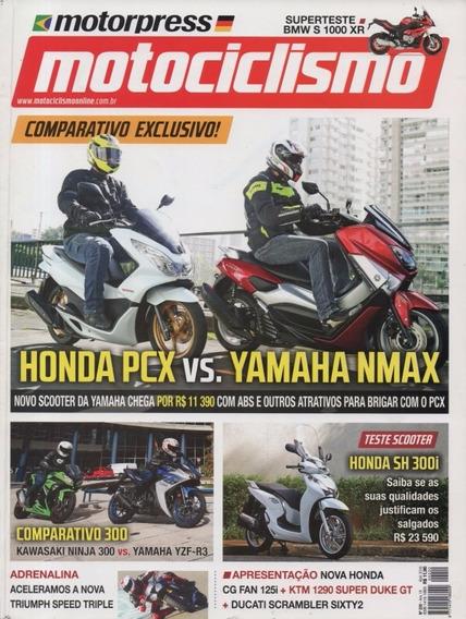Motociclismo N°220 Honda Pcx Cg Yamaha Nmax Yzf-r3 Ninja 300