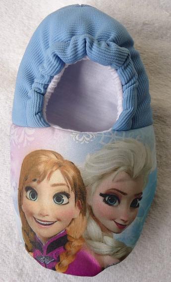 Kit 2 Pantufa Frozen Anna Elsa Olaf *sob Encomenda