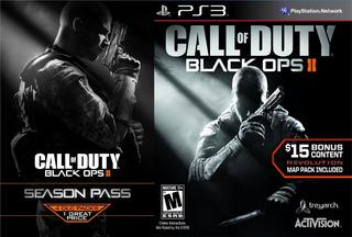Call Of Duty Black Ops 2 + Season Pass Ps3 Digital Gcp