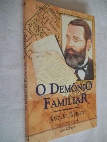 * Livro - José De Alencar - O Demonio Familiar - Literatura