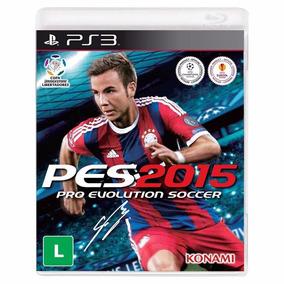 Jogo Pro Evolution Soccer 15 Seminovo Game Playstation 3