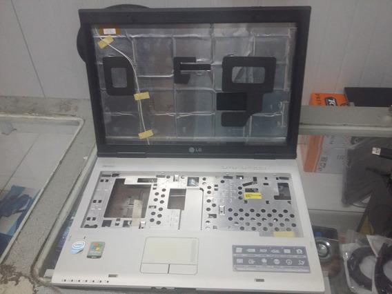 Carcaça Completa Do Notebook (LG R400) Na Cor Azul