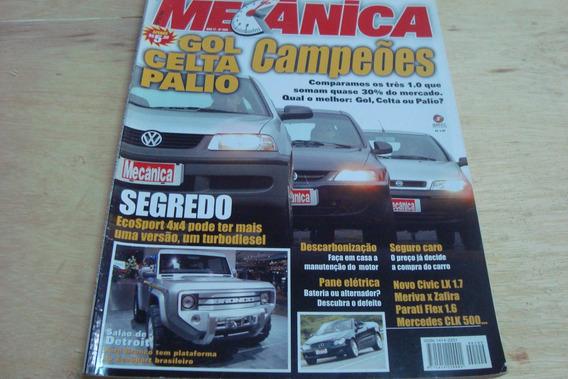 Revista Oficina Mecanica 209 / Gol Celta Palio Campeoes