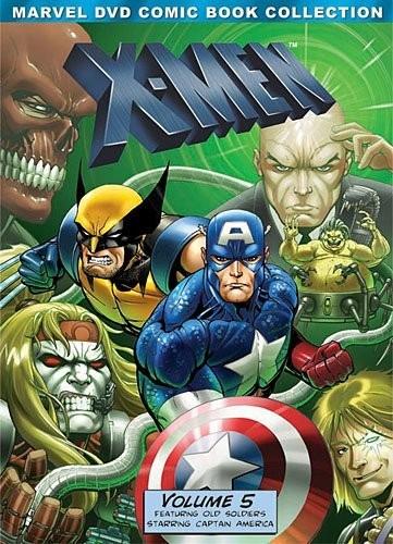X-men Volumen 5 Cinco Serie Animada Importada Dvd