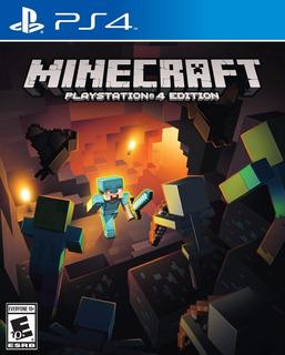 Minecraft Ps4 Nuevo Fenix Games