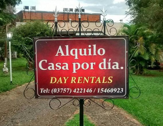Alquiler X Dia C/pileta - Centro Iguazu - P/ 5 Personas