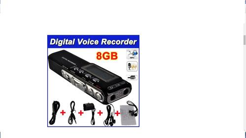 Gravador De Voz E Reproduz Mp3
