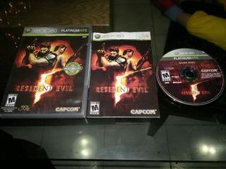Resident Evil 5 Completo Para Xbox 360,excelente Titulo