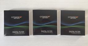 Tfgo - Kit C/ 3 Filtros Citiwide - Uv / Cpl / Graduated Blue