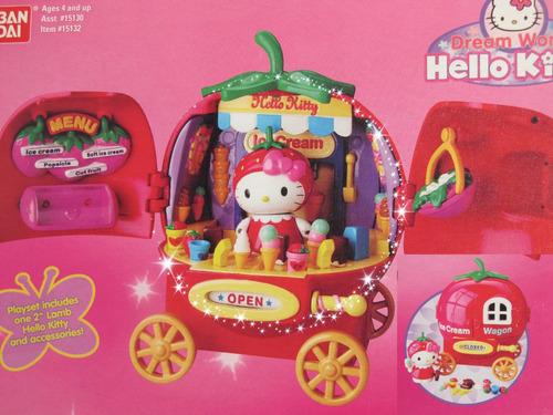 Hello Kitty / Tienda De Helados / Nueva Importada Japon