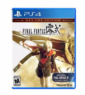 Final Fantasy Type-0 Hd - Playstation 4 (físico)