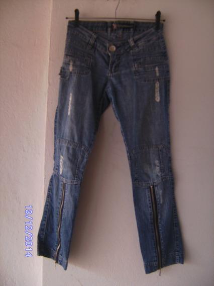 Ca059 Calça Jeans Manequim 34 Planet Girls