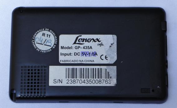 Carcaça Traseira Completa Gps Lenoxx Gp-435a