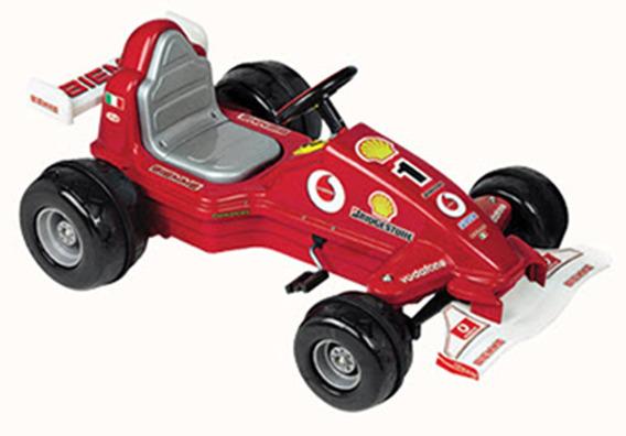 Coche Auto Nene A Pedal Cadena Formula Uno Gran Prix Biemme