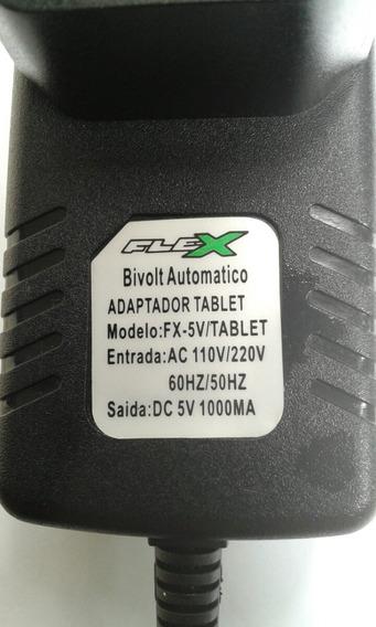 Fonte Flex Universal P/tablet Modelo Flex5v/2a.