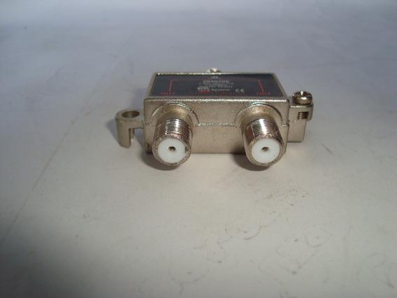Divisor De Antena - 2040206 - 2 X 1 - C/ 2 Cabos Kit Com 3