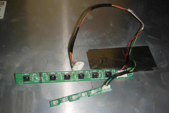 Teclado Do Monitor Led 23 Lg Flatron E2360v-pn