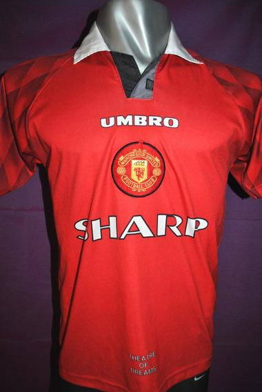 Camiseta Del Manchester United Umbro 1997 Sharp. Talle S