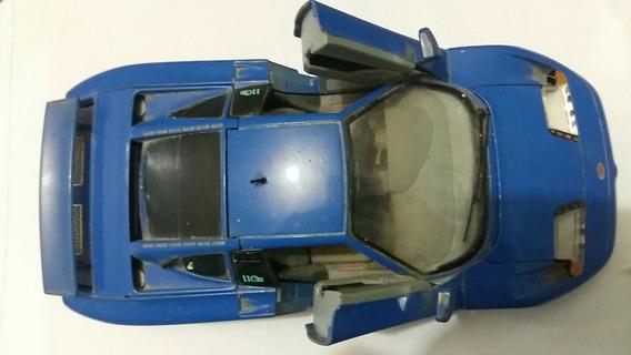 Bugatt 11gb (1991) Azul - Burago - Escala: 1/18