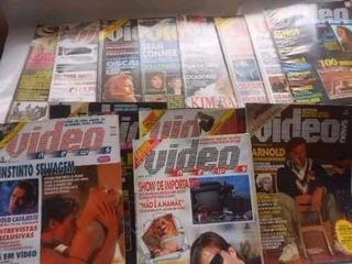 Revista Video News - Diversos Números - 1986 A 1992