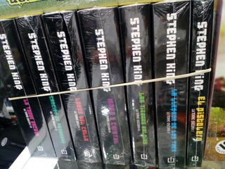 Saga Torre Oscura 8 Libros Versión De Bolsillo