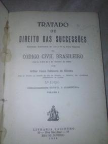 Tratado De Direito Das Sucessões Itabaiana De Oliveira
