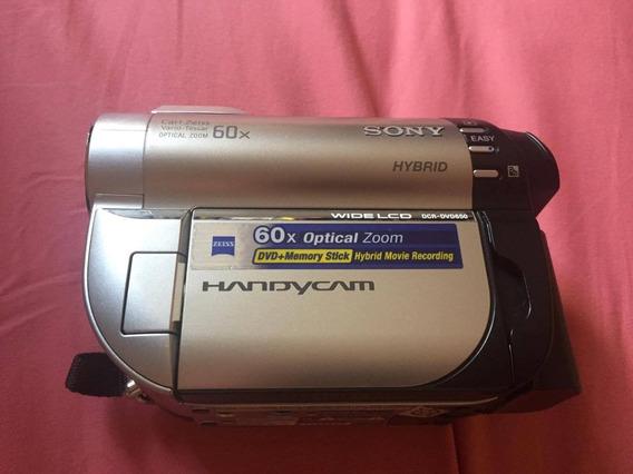 Sony Hybrid Dcr Dvd650 - Ótimo Estado.