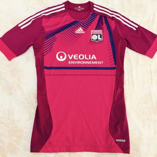 O57057 Camisa adidas Olympique Lyon 11/12 Gg Techfit Fn1608
