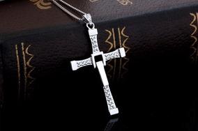 Corrente 1,5 Mm + Crucifixo 3 Cm 100% Prata 925 Vin Diesel