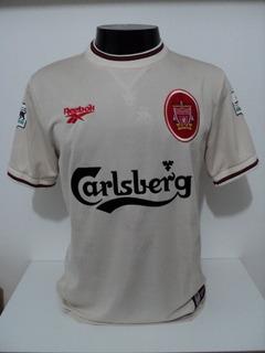 Camisa Liverpool Away 96-97 Fowler 9 Premier Importada