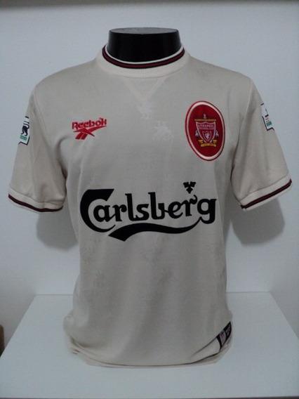 Camisa Liverpool Away 96-97 Owen 18 Premier Importada