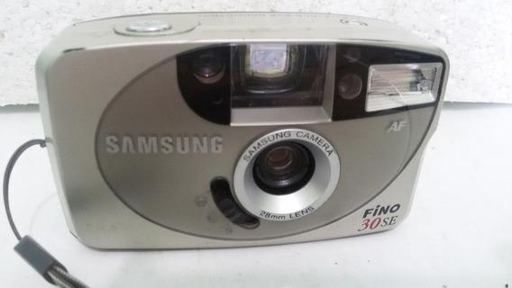 Câmera Fotográfica Samsung 30se Fino - Maquina Antiga