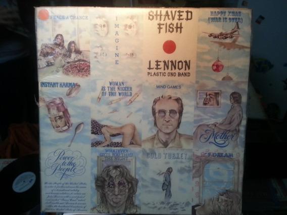 Lp Vinil Lenon Plastic Ono Band Shaved Fish Raro C/ Encarte