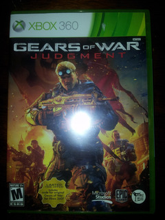 Gears Of War Judgment X Box 360 Nuevo Y Sellado