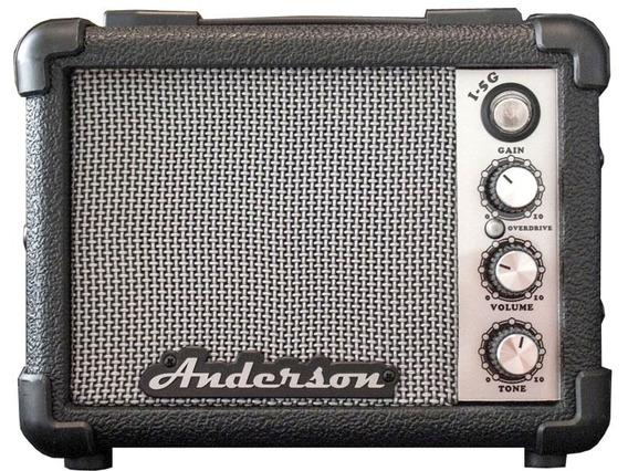 Amplificador Guitarra El.anderson I5g Portatil 5w 9v A Pilas