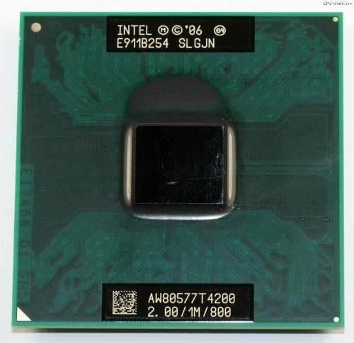 Processador Notebook Intel Pentium Dual Core T4200 2.0ghz