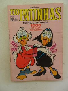 Tio Patinhas Nº 251! Abril 1986!