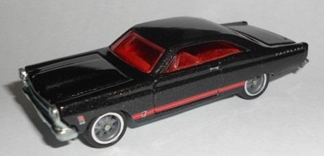 Hot Wheels Garage 1966 Ford Fairlane Gt (roda De Borracha)