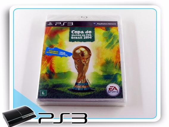Ps3 Copa Do Mundo Da Fifa Brasil 2014 Playstation 3 Novo