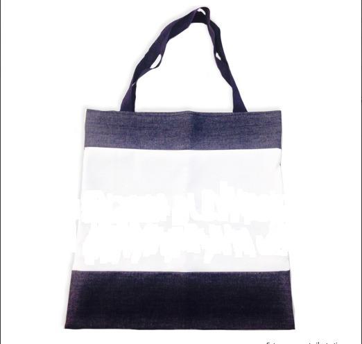 Bolsa Jeans Tipo Ecobag Personalizada
